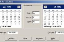 Saturday Night Fun: Date calculator