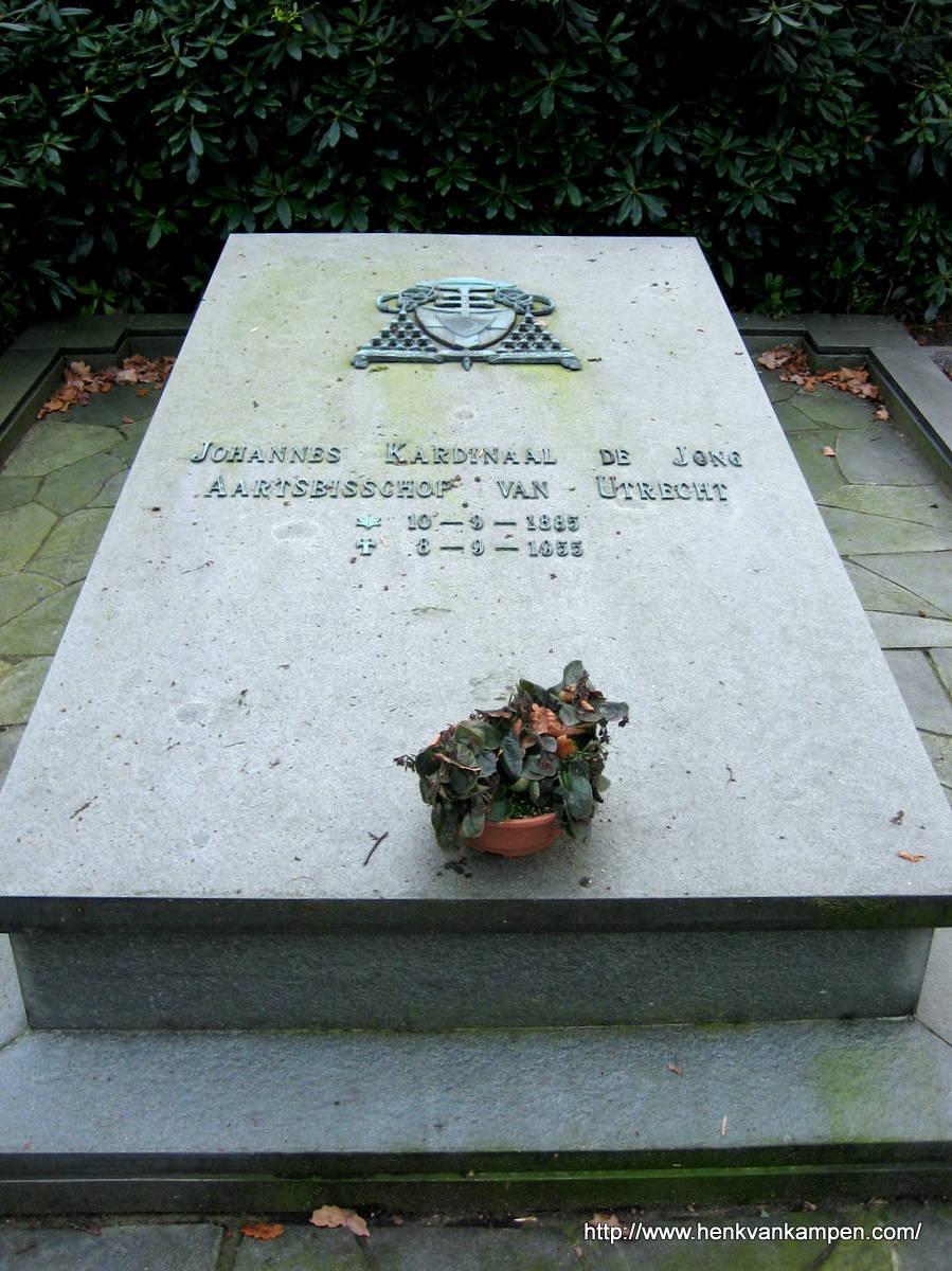 Tomb of Cardinal De Jong, Archbishop of Utrecht. St Barbara Cemetery, Utrecht