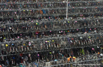 Wordless Wednesday: Bicycle parking place