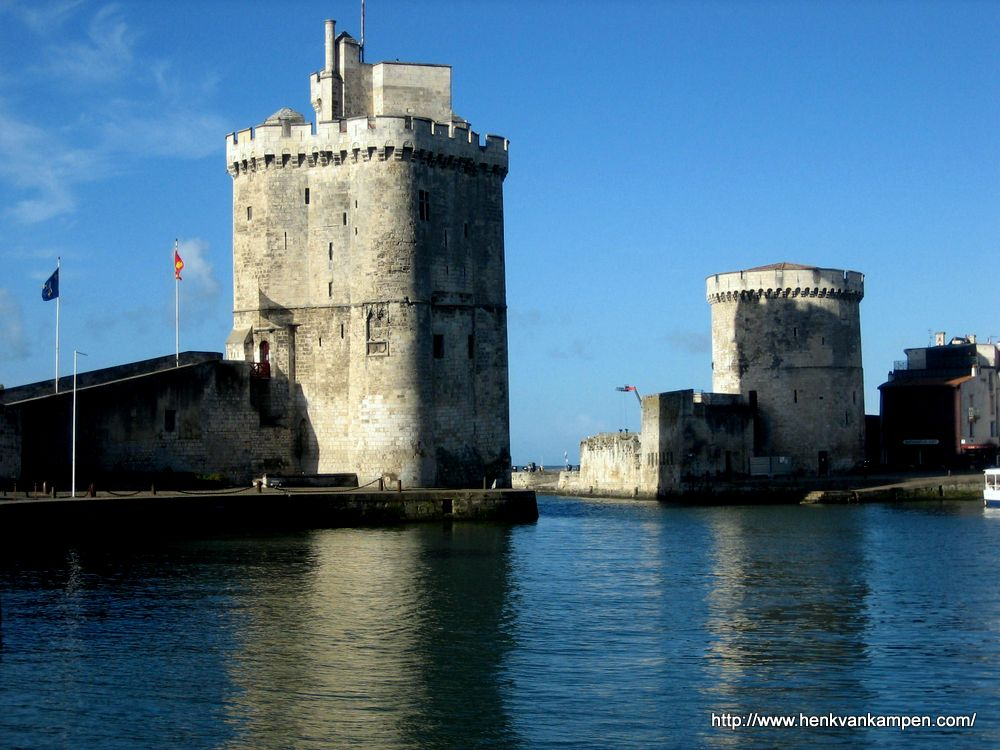 Fortified port of La Rochelle, France