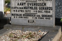 Tombstone Tuesday: Overbosch