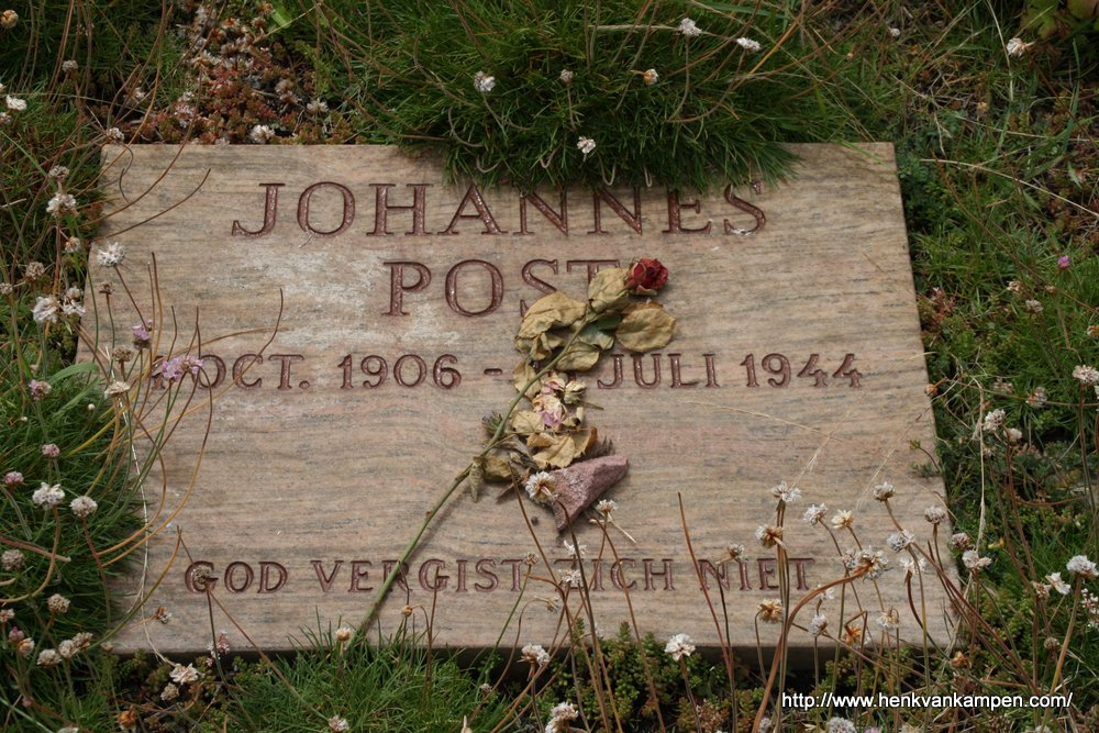 Grave of Johannes Post