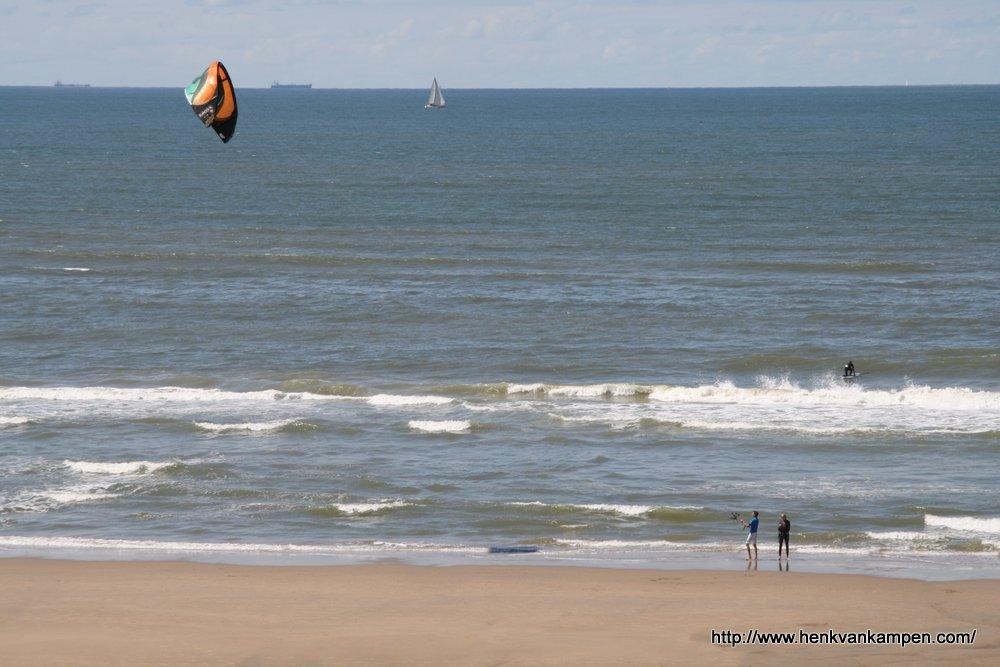 A kite on the beach