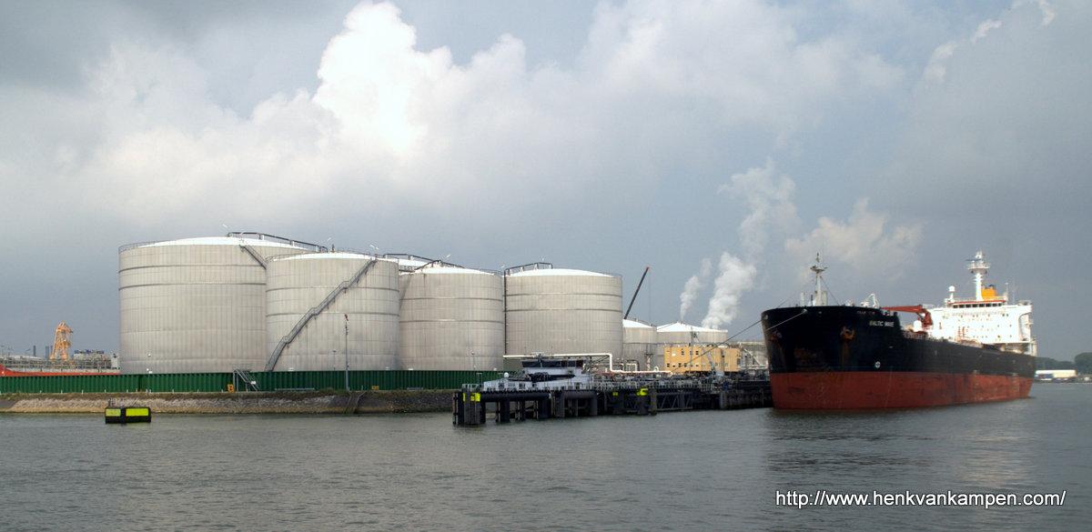 The port of Rotterdam