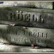 Wordless Wednesday: Röell tombstone