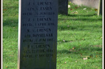 Tombstone Tuesday: Van Loenen family grave