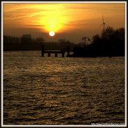 Wordless Wednesday: Canal Sunrise