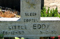 Tombstone Tuesday: Sleep softly, Little Eddy