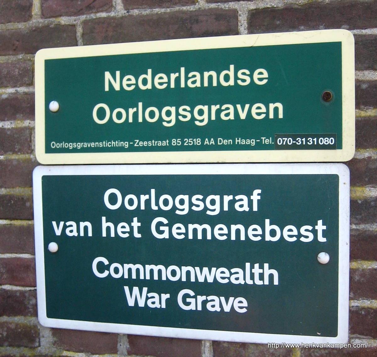 """RC Cemetery """"Onze Lieve Vrouwe"""", Amersfoort"""