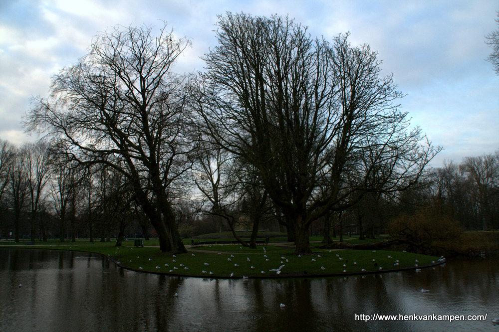 Island in Vondel Park, Amsterdam