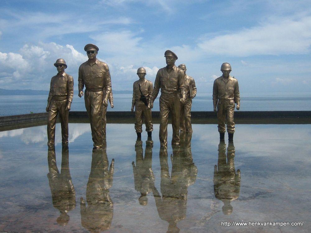 Red Beach landing monument