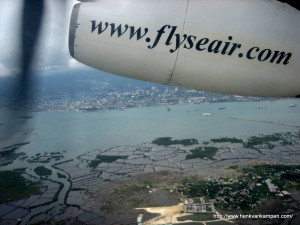 Flying Seair over the Visayas