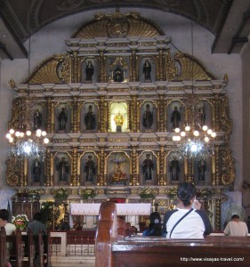 Altar of the Basilica of Santo Niño, Cebu