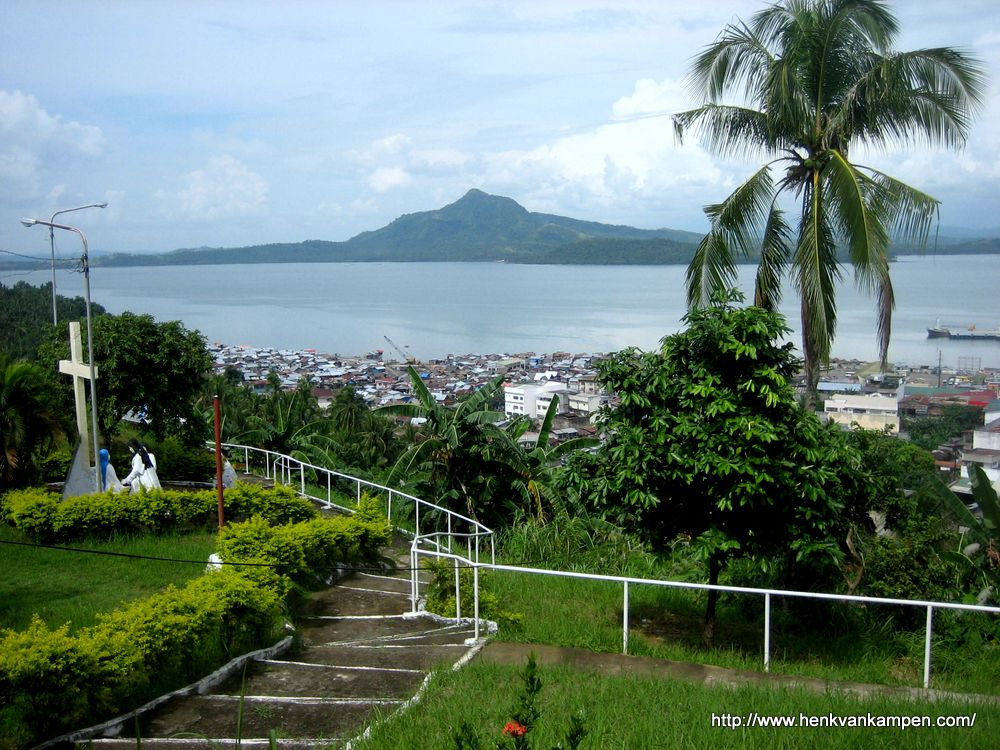 Tacloban City and the San Juanico Strait, Philippines