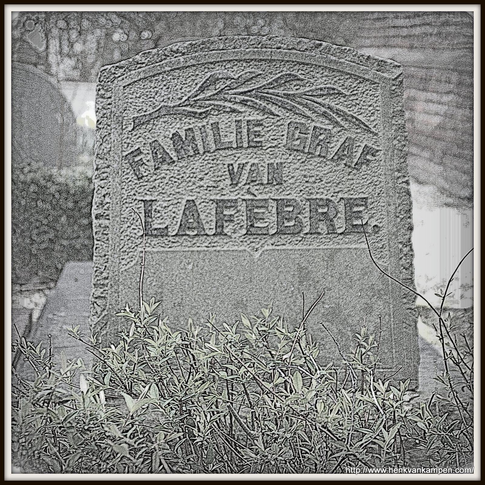 Lafebre family grave, Kerkveld cemetery, Nieuwegein