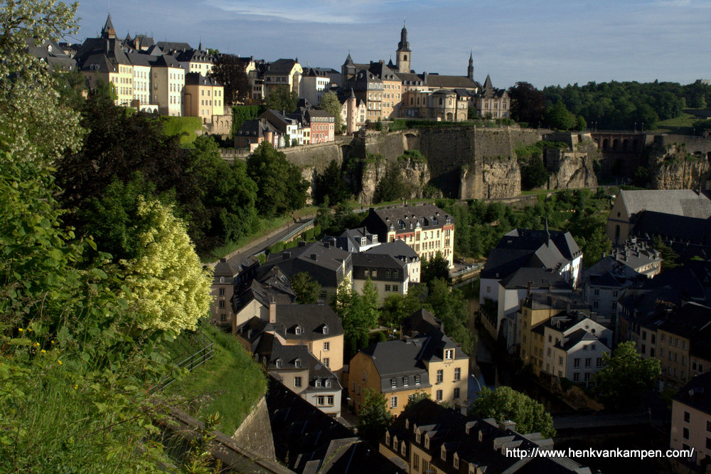 Grund and Ville Haute, Luxembourg