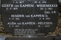 Tombstone Tuesday: Van Kampen