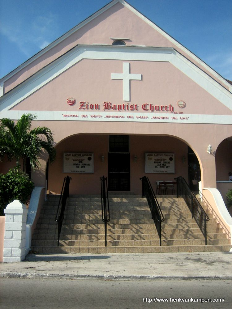 Zion Baptist Church, Nassau, Bahamas
