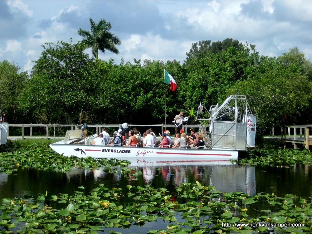 Airboat, Everglades, Florida