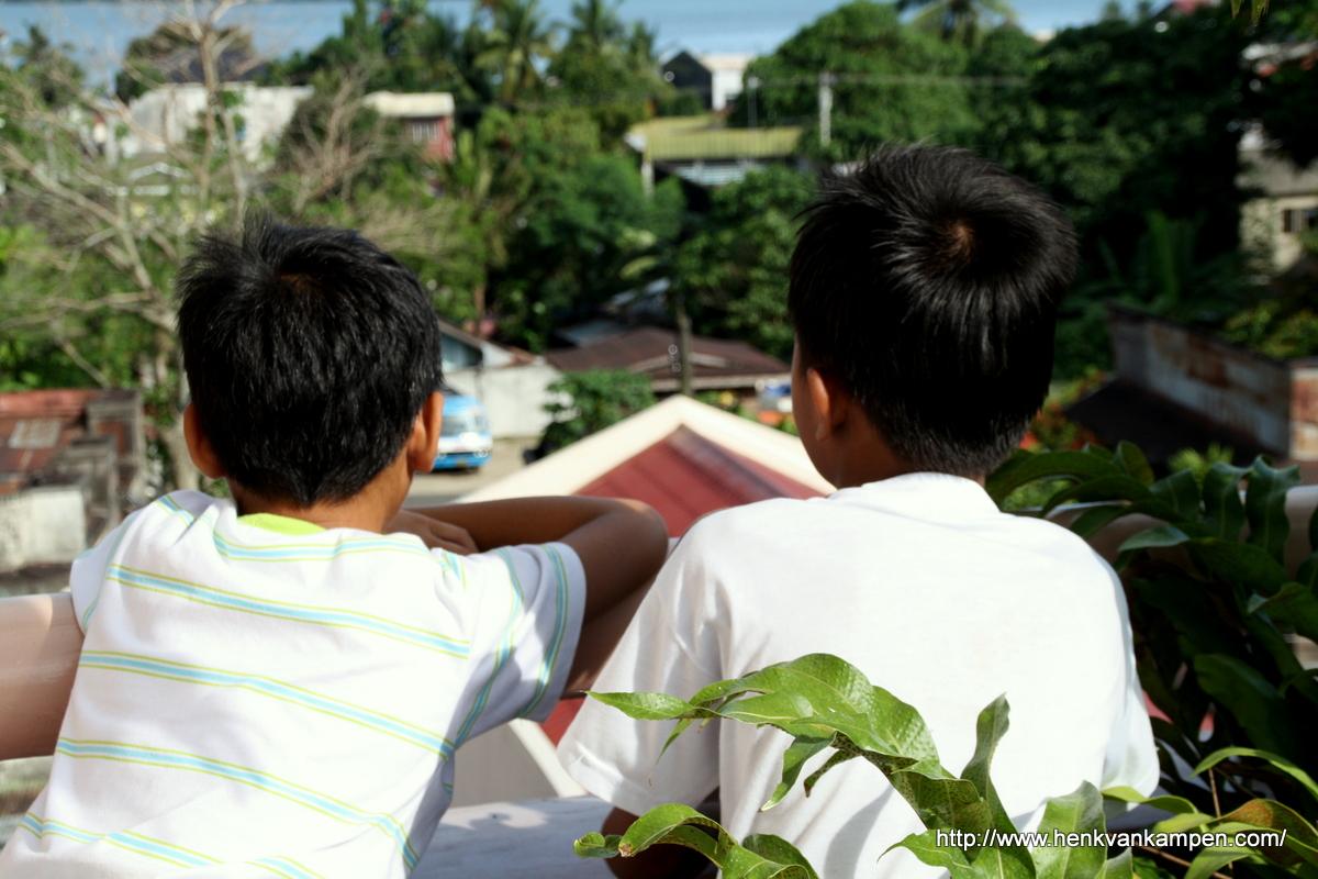 Overlooking Tacloban City, Philippines