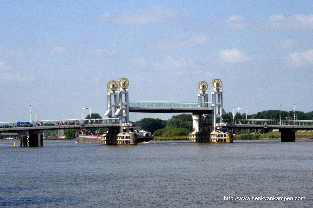 Bridge over the river IJssel, Kampen
