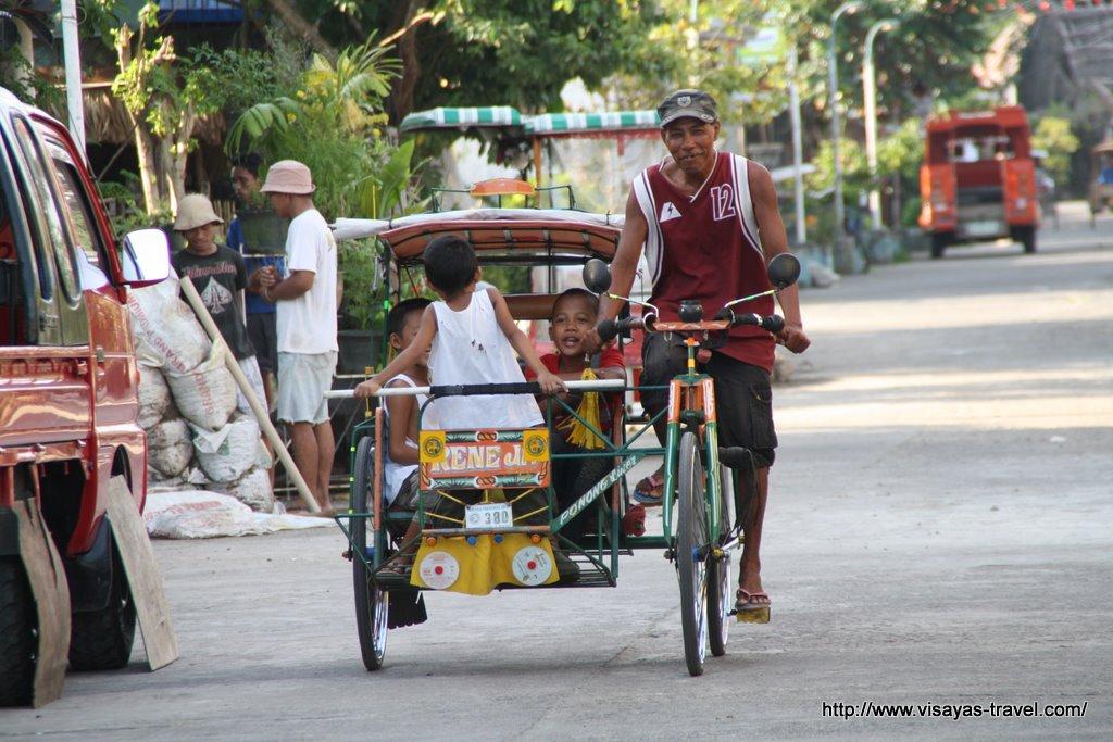 Pedicab, Carigara, Philippines