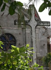 San Antonio de Padua church in Sulangan, Philippines