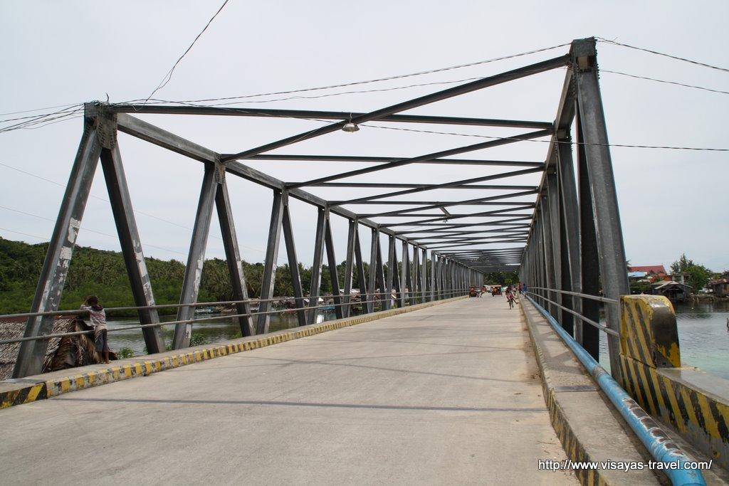 A bridge in Samar