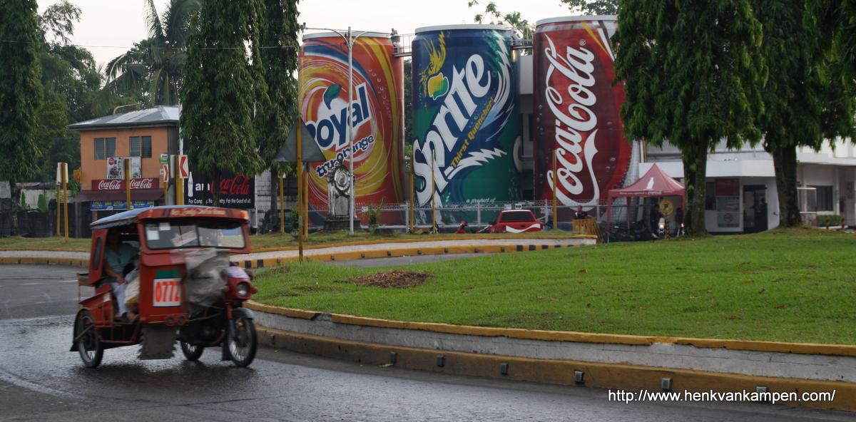 Coca Cola Rotunda, Tacloban, Philippines