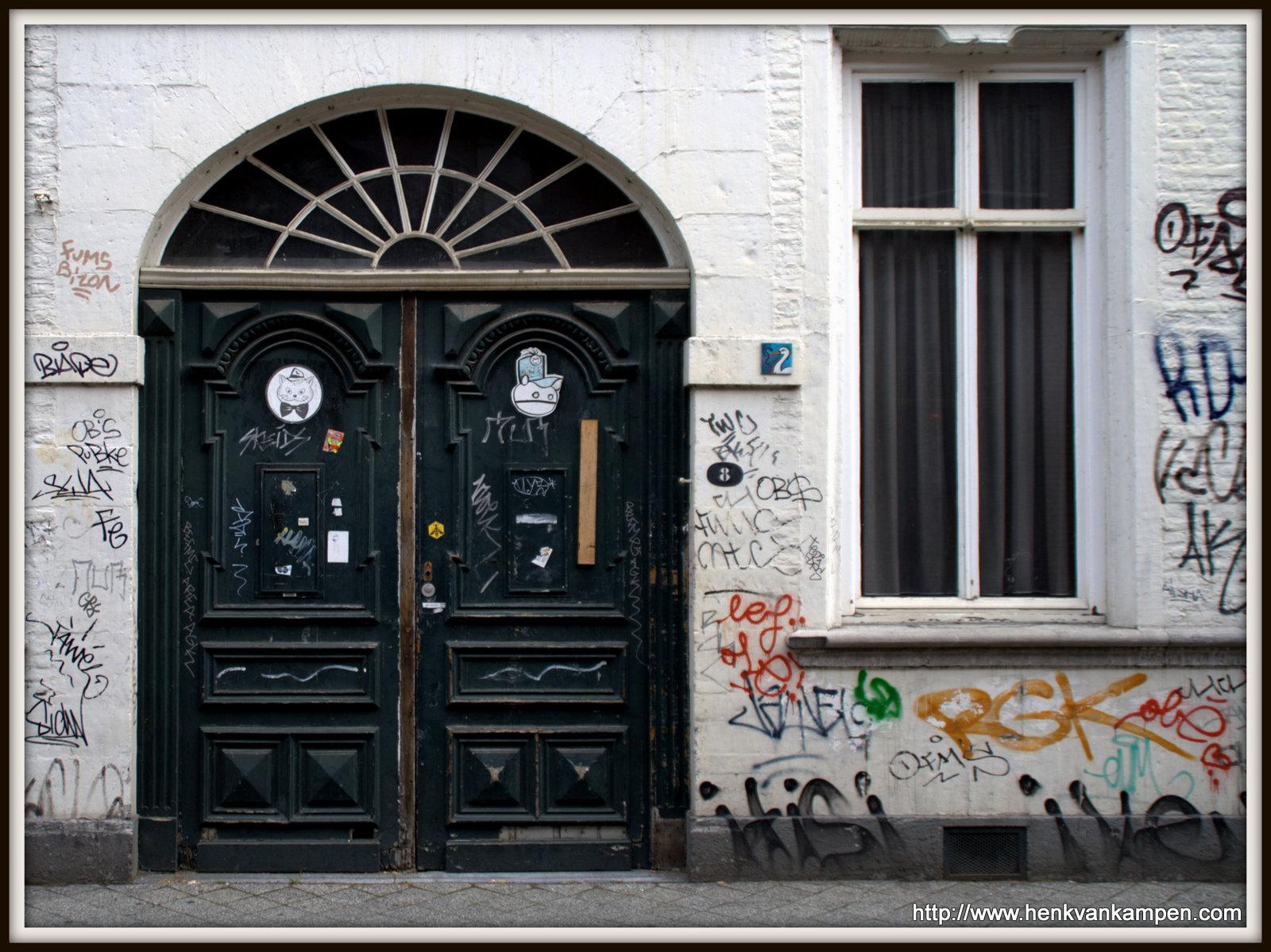 Graffiti, Bredestraat