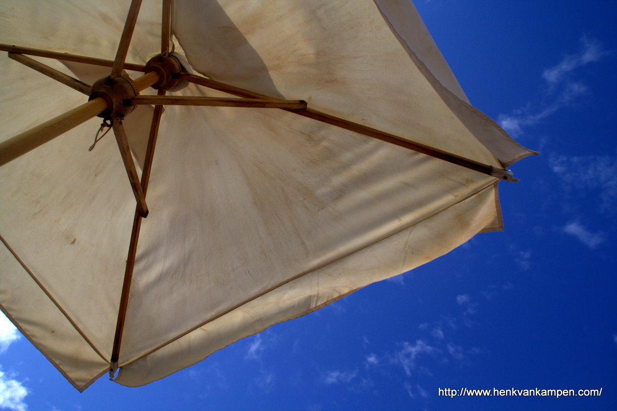 Beach umbrella, Malta
