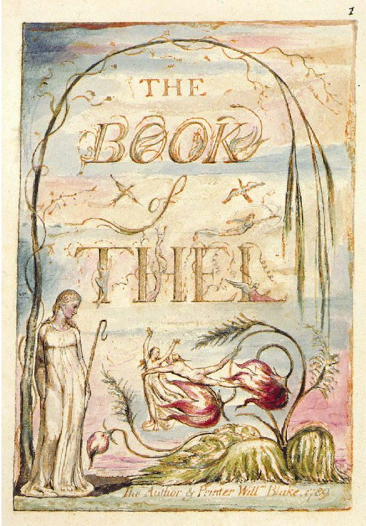 William Blake - The book of Thel