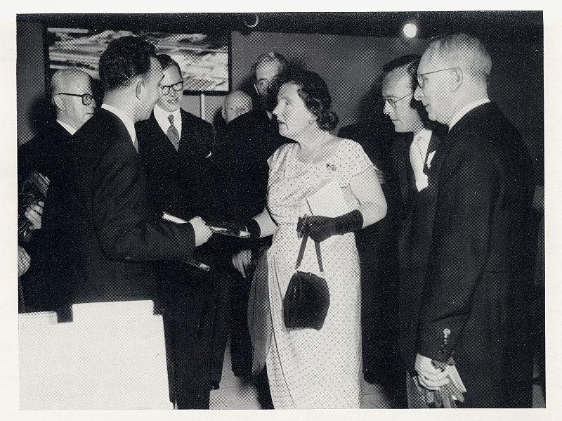 Meeting Queen Juliana