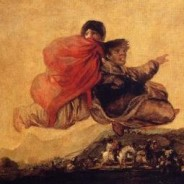 Goya's black paintings: Asmodea