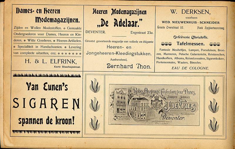 Souvenir aan het bezoek van H.H.M.M. de Koninginnen