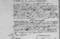Birth certificate of Geertje Wiesenekker