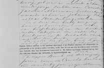 Marriage certificate of Hendrikus Franciscus Coppens and Johanna Petronella Moerman