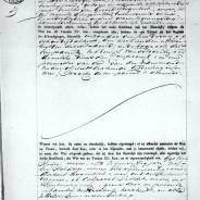 Marriage certificate Volkert van Kampen and Maria Hogenbirk