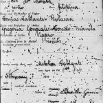 Birth certificate from Manila (sample)