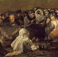 The witches' sabbath or the great he-goat