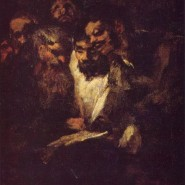 Goya's black paintings: The reading