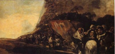Francisco Goya - Black Paintings - St. Isidore's well