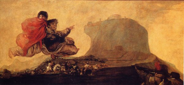 Francisco Goya - Black Paintings - Asmodea