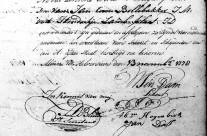 Marriage of Jan Bollebakker and Hendrikje Plaat