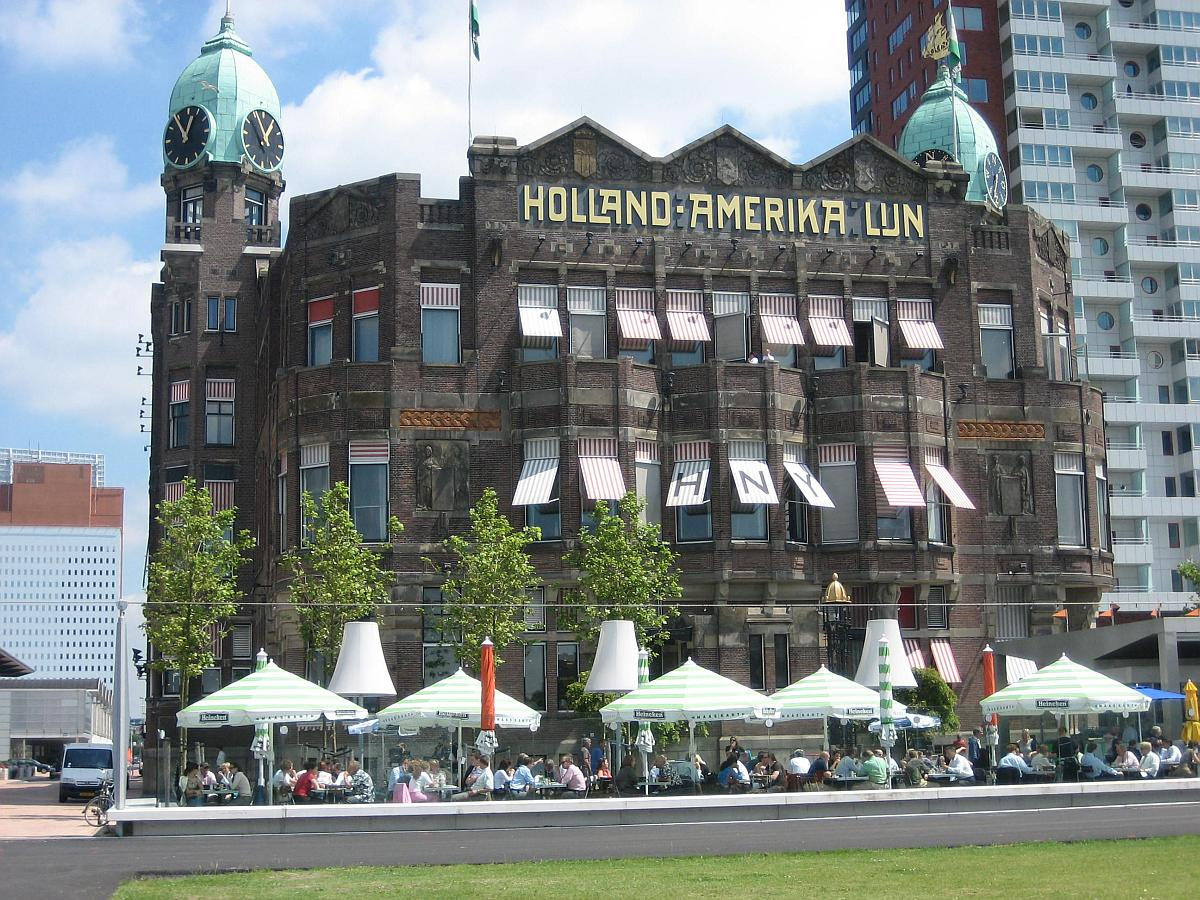 Former Holland America Line head office, Wilhelminakade, Rotterdam