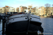 Wordless Wednesday: Ship on the Amstel river