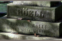 Wordless Wednesday: Röell tombstone