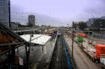 Utrecht Station in the rain