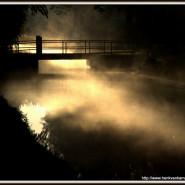 Mist op het water