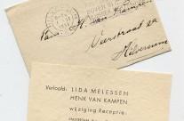 Gathering dust: The engagement of Henk van Kampen and Lida Melessen